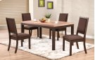 """66"""" Leg Table w/ 4 Chairs Product Image"""