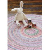 Cutting Garden Tea Rose Braided Rugs