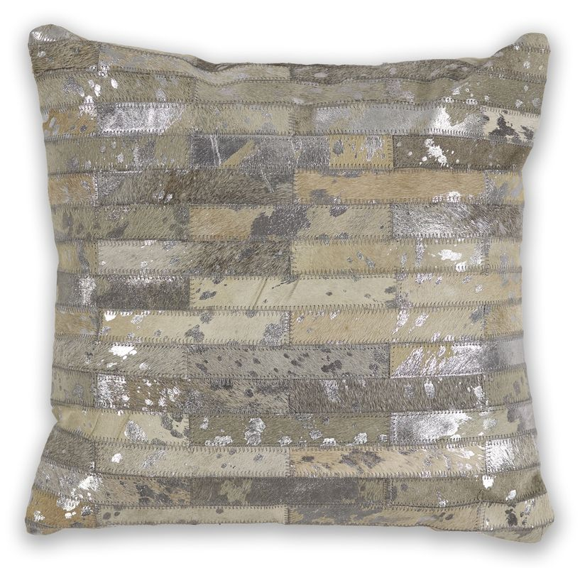 "Pillow L331 Grey Elements 18"" X 18"""