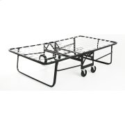 "Rollaway 1290 Folding Cot with Angle Steel Frame and Link Deck Sleeping Surface, 29"" x 75"" Product Image"