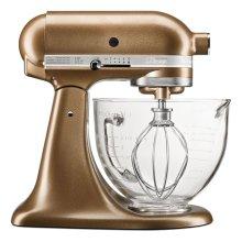 Artisan® Design Series 5 Quart Tilt-Head Stand Mixer with Glass Bowl Antique Copper