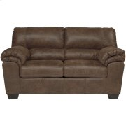 Signature Design by Ashley Bladen Loveseat in Coffee Faux Leather Product Image