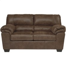 Signature Design by Ashley Bladen Loveseat in Coffee Faux Leather