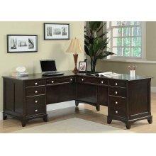 Garson Transitional Left Pedestal Desk