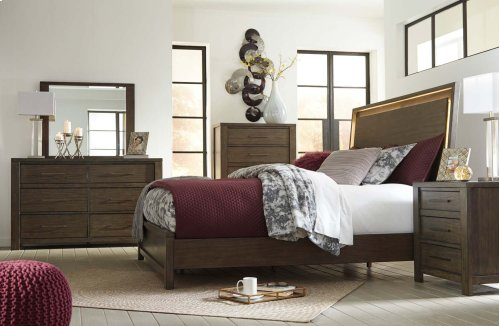 Camilone - Dark Gray 3 Piece Bed Set (King)