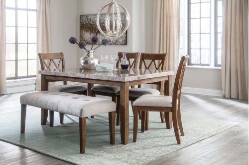 Narvilla - Light Brown Set Of 2 Dining Room Chairs