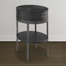 Desert Bratton Round Chairside Table