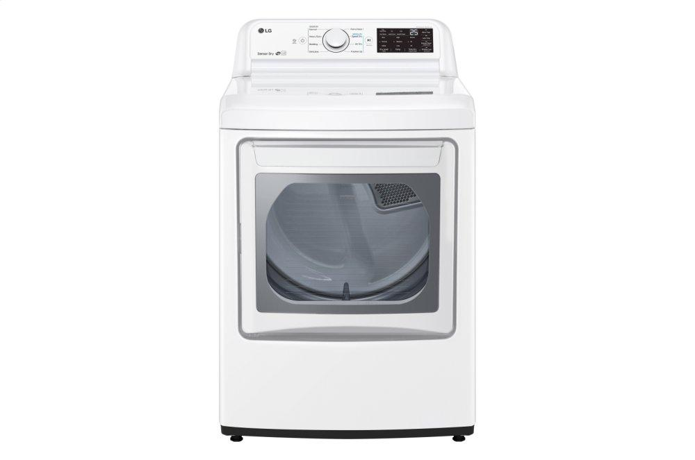LG Appliances7.3 Cu. Ft. Gas Dryer With Sensor Dry Technology