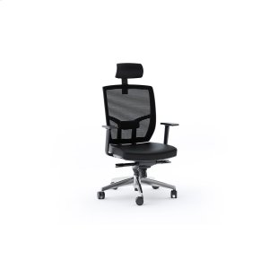 Bdi FurnitureTc 223dhl Office Chair Leather Seat in Black