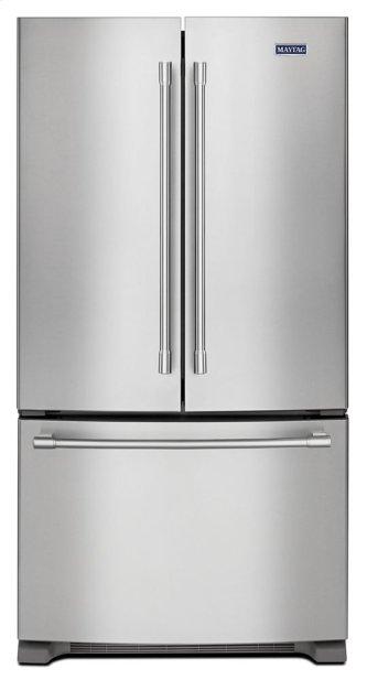 Maytag(R) 36-Inch Wide French Door Refrigerator - 25 Cu. Ft.