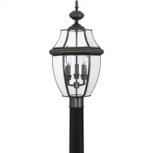 Newbury Outdoor Lantern in Medici Bronze