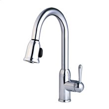 Insignia Pull-down Kitchen in Polished Chrome