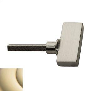 Lifetime Polished Brass TK006 Turn Knob