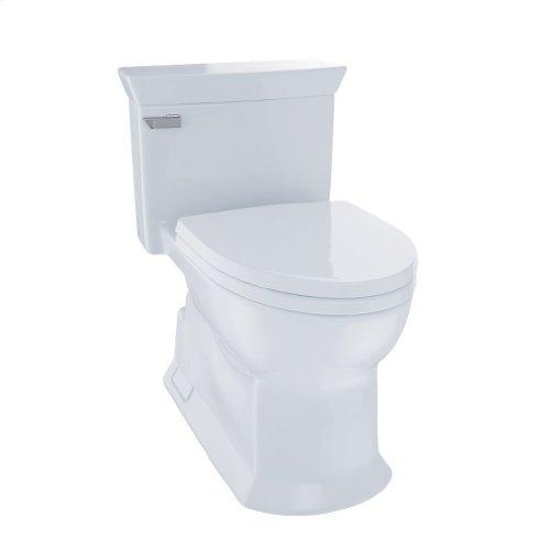 Eco Soiree® One Piece Toilet, 1.28 GPF, Elongated Bowl - Cotton