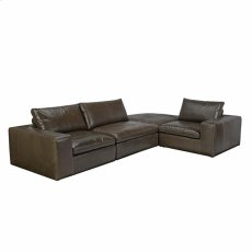 Derby Sectional Wolf Product Image