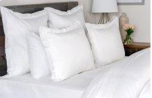 Harlow White Queen Duvet 92x90
