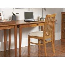 Shaker Desk with Drawer in Caramel Latte