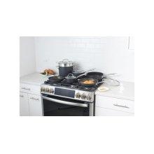 Dishwasher Safe Anodized Cookware 11 Piece Set