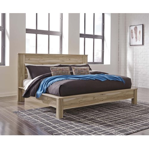 Kianni - Taupe 4 Piece Bed Set (King)