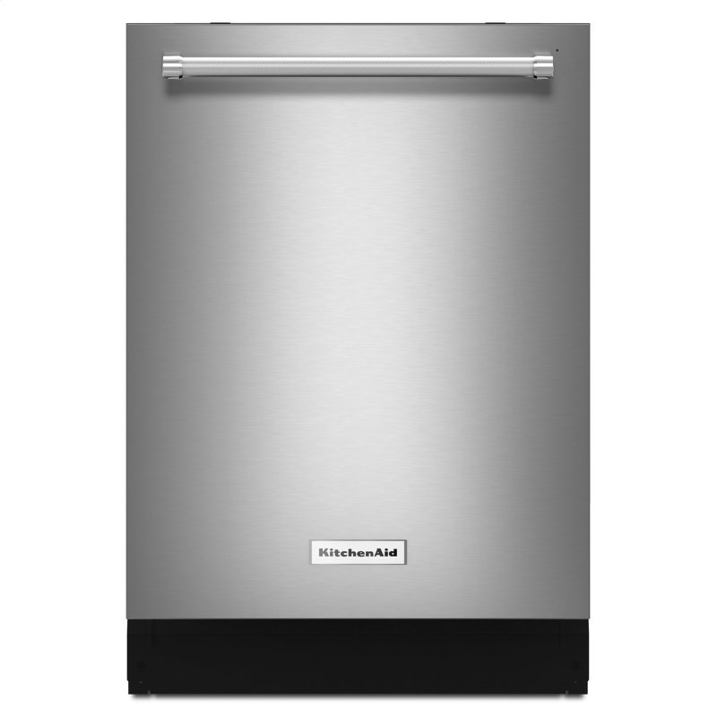 44 dBA Dishwasher with Dynamic Wash Arms and Bottle Wash Stainless Steel