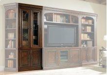 Home Office European Renaissance II Glass Door Bookcase