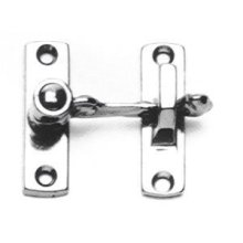 Shutter & Bi-fold Door Latch (Spring Loaded) in (Shutter & Bi-fold Door Latch (Spring Loaded) - Solid Brass)