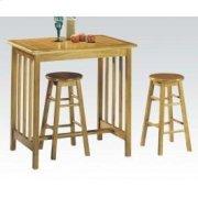 3pc Breakfast Set Oak/ter Tile Product Image