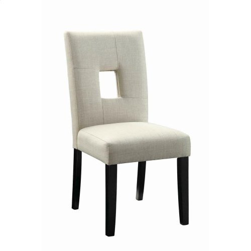 Andenne Transitional Black Dining Chair