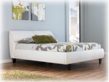 Ashley Queen Upholstered Storage Bed