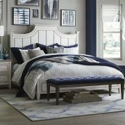 Queen/Aged Whitestone Bella Panel Bed Product Image