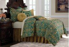 9 pc Queen Comforter Set Turquoise