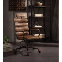 BROWN EXECUTIVE OFFICE CHAIR
