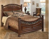 Leahlyn - Warm Brown 3 Piece Bed Set (Queen)