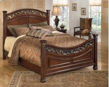 Leahlyn - Warm Brown 3 Piece Bed Set (Queen)