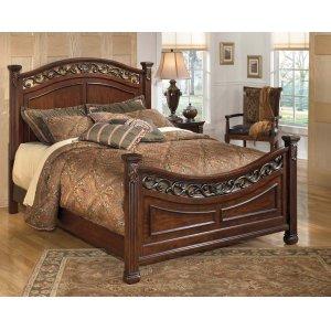 Ashley Furniture Leahlyn - Warm Brown 3 Piece Bed Set (Queen)