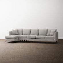 MODERN-Ariana 3 Piece Left Chaise Sectional