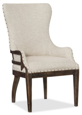 Dining Room Roslyn County Deconstructed Upholstered Host Chair