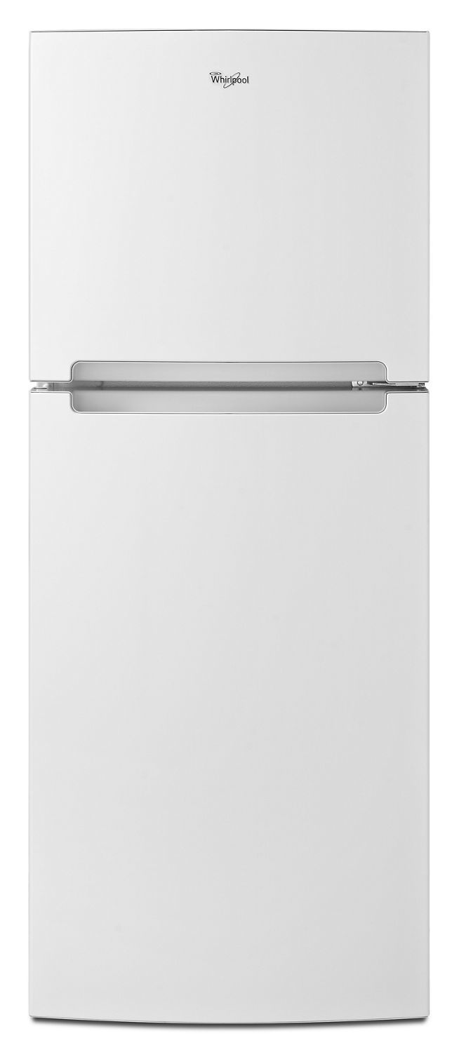 Whirlpool25-Inch Wide Top Freezer Refrigerator - 11 Cu. Ft. White