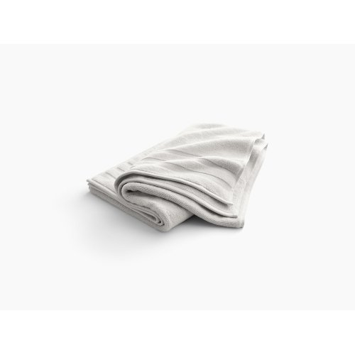"""Dune Bath Towel With Terry Weave, 30"""" X 58"""""""