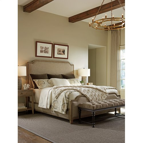 Stone Harbour Upholstered Bed Queen Headboard