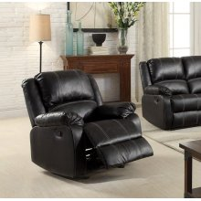 BLACK ROCKER RECLINER