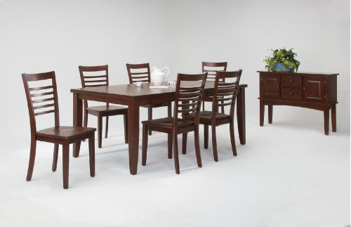 Contemporary Extension Leaf Table