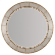 Bedroom Urban Elevation Round Mirror Product Image