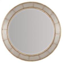Bedroom Urban Elevation Round Mirror