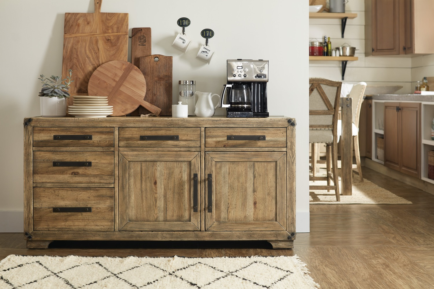 Additional Dining Room Roslyn County Multifunctional Cart