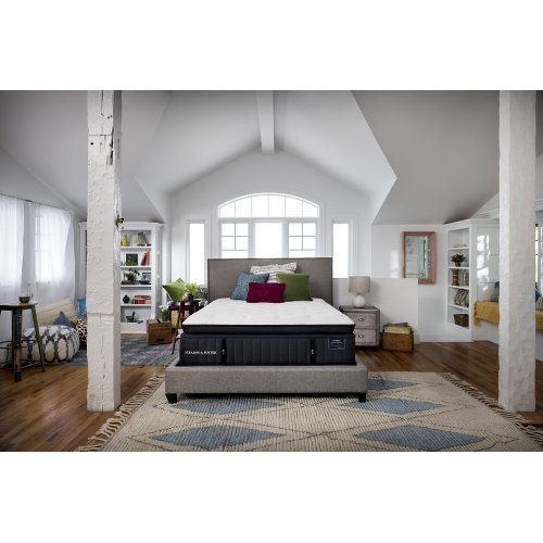 Lux Estate Collection - Cassatt - Luxury Firm - Euro Pillow Top - Split Cal King