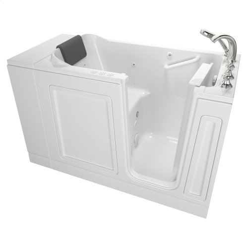 Luxury Series Right Drain Walk-in Tub Combination Massage with Tub Faucet  American Standard - White