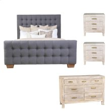 Armand Aria 4pc Bedroom Set EK