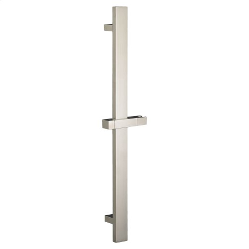 30 Inch Square Slide Bar - Brushed Nickel