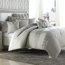 9pc Queen Comforter Set Neutral